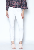 Paige White Skinny Cropped Jeans