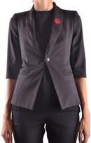 Philipp Plein Women's Black Polyester Blazer.