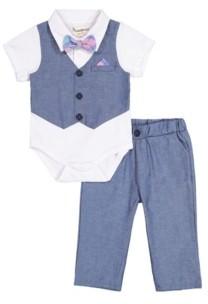 Beetle & Thread Beedle & Thread Baby Boy's Polo Shirtzie Pant Set