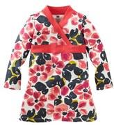 Tea Collection 'Water Blossom' Wrap Dress (Little Girls & Big Girls)