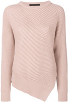 Cédric Charlier asymmetric knit top