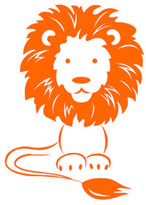 Lion Wall Sticker