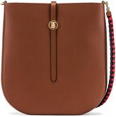 Burberry Medium Anne Hobo Bag in Tan | FWRD