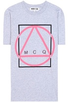 McQ by Alexander McQueen Printed cotton T-shirt