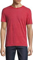 Woolrich Men's Linen Striped T-Shirt