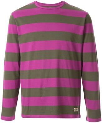 Kent & Curwen stripe pattern T-shirt