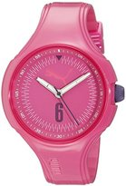 Puma Women's PU911201007 Wave - Pink Analog Display Quartz Watch