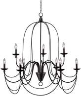 Kenroy Home Pannier 9-Light Chandelier
