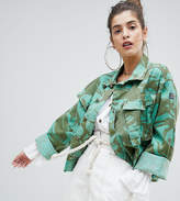 Reclaimed Vintage Revived Overdyed Camo Jacket