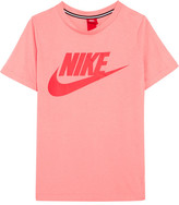 Nike Essential Printed Stretch-jersey T-shirt - Blush