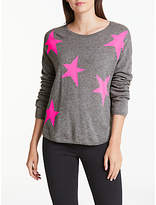 Wyse London Maddy Large Star Slouchy Cashmere Jumper