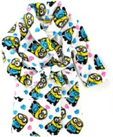 Disney Despicable Me 2 I Love Minions Minion Girls Plush Robe Bathrobe (s 6/6x)