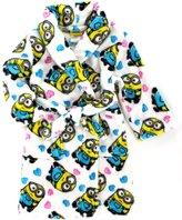Disney Despicable Me 2 I Love Minions Minion Girls Plush Robe Bathrobe (s 6/6x)