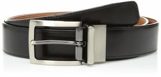 Trafalgar Men's Reversible Leather Dress Belt
