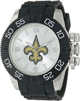 Game Time Men's NFL-BEA-NO Beast New Orleans Saints Round Analog Watch