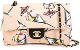 Chanel Limited Edition Pink Canvas Ice Cream Sundaes Flap Bag