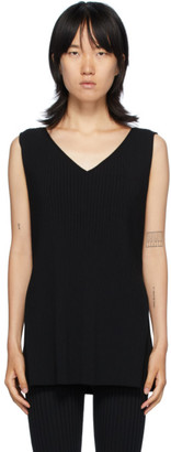 Totême Black Bolzano Tank Top
