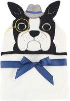 Baby Vision Hudson Baby® Dog Hooded Towel in White
