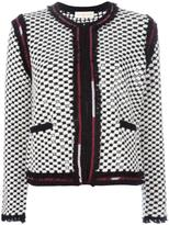 Tory Burch embellished jacket - women - Polyamide/Wool - S