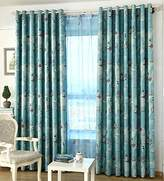 AliFish 1 Panel Nautical Curtains and Drapes Grommet Vessel Rudder Panel Kids Room Window Drapes Blackout Room Darkening Thermal Insulated for Boys Girls Berdoom for Living Room W39 x L84 inch