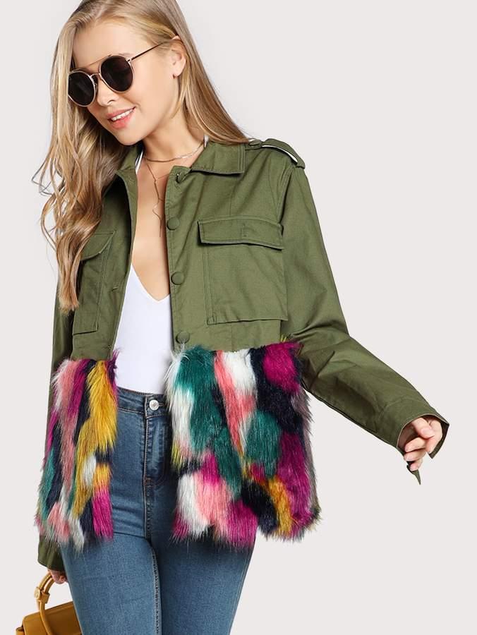 4e5c4fa258 Shein Women's Outerwear - ShopStyle
