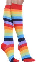 Angelina Rainbow Stripe Knee-High Socks