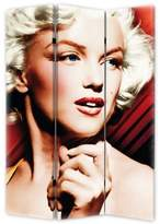 Monroe Marilyn Red Spotlight Folding Screen
