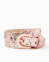 Charming charlie Glitter Me Pretty Belt