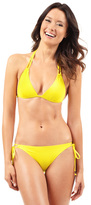 Voda Swim Yellow Double String Bikini Bottom