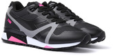 Diadora N9000 Black & Neon Pink Bright Protection Trainers