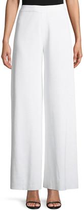 Misook Plus Size Knit Palazzo Pants