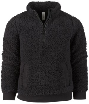 Ideology Big Girls Sherpa 1/4-Zip Jacket, Created for Macy's