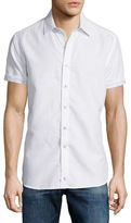 Robert Graham Santa Catalina Short-Sleeve Shirt, White