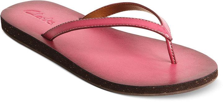 Clarks Women's Shoes, Salon Spirit Flip Flops