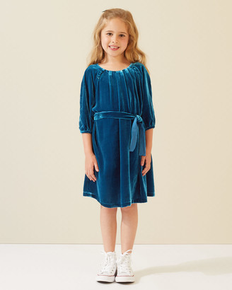Jigsaw Silk Velvet Blend Dress