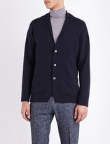 John Smedley Oxland button-up wool cardigan