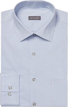 Van Heusen Men's Dress Shirt FIT Stain Shield Stretch (Big and Tall)