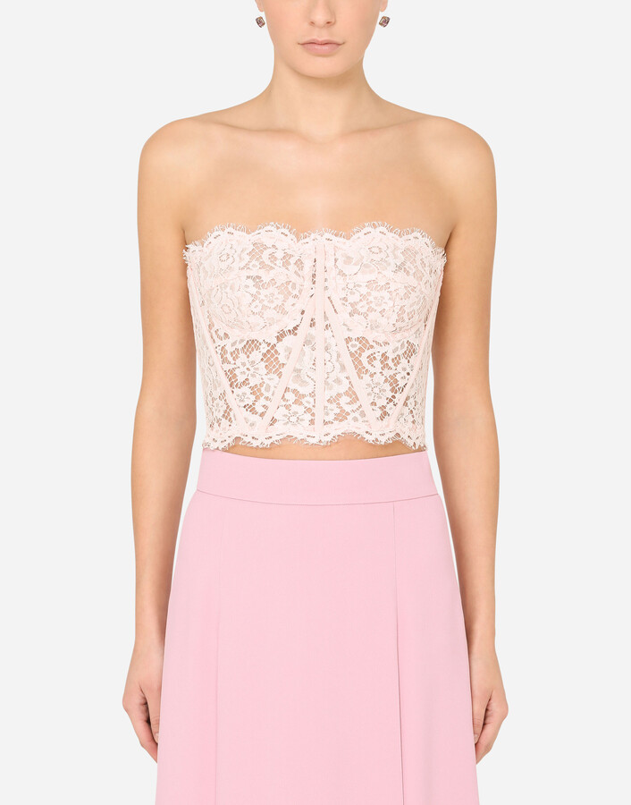 Thumbnail for your product : Dolce & Gabbana Lace bustier