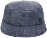 Maison Michel Malo denim-effect bucket hat