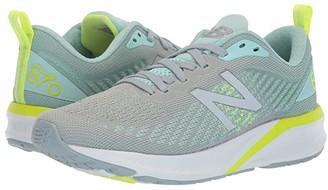 New Balance 870v5 (White/Vivid Cobalt) Women's Shoes