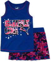 Puma 2-pc. Skort Set Preschool Girls