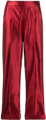 Tom Ford silk high-waisted trousers