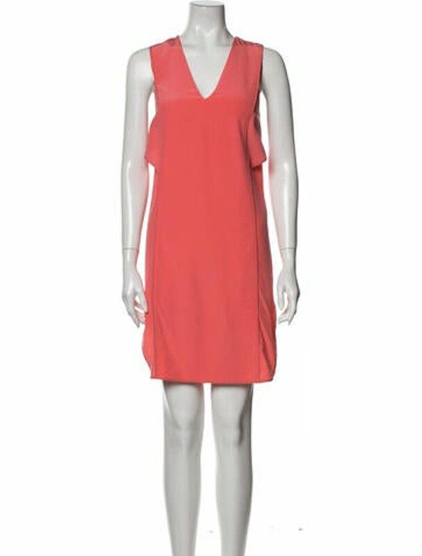 Thumbnail for your product : Alexander Wang Silk Mini Dress Pink