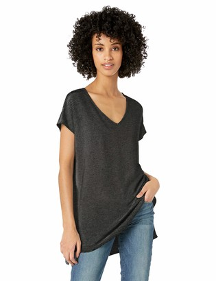Daily Ritual Amazon Brand Women's Supersoft Terry Dolman-Sleeve V-Neck Tunic