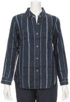 Rails Carter Indigo Stripe Shirt