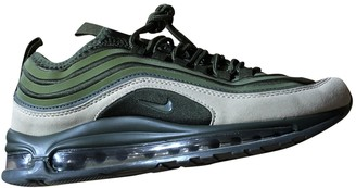 Nike 97 Green Rubber Trainers