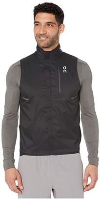 On Weather Vest (Black) Men's Coat