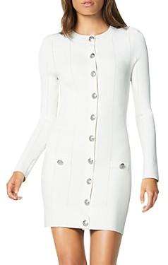 Ramy Brook Lennox Button-Front Sweater Dress