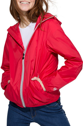 Sloane O8 Lifestyle Full-Zip Packable Rain Jacket