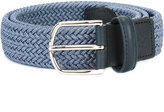 Canali braided elastic belt - men - Leather/Elastodiene - 110